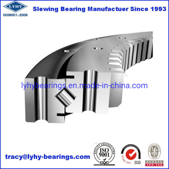 Four Point Contact Ball Slewing Ring Bearing Slewing Bearing 011.25.400