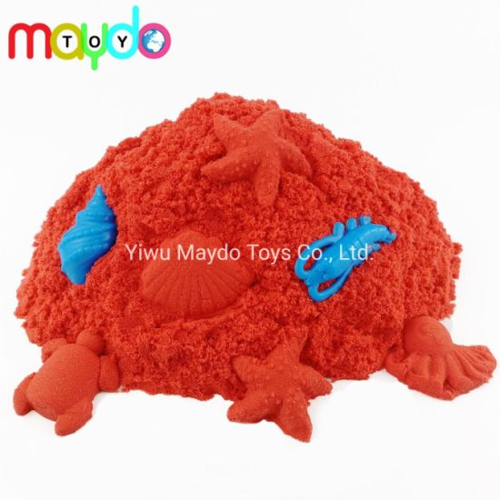 Wholesale Red Magic Kinetic Sand Kids Edcational Play Sand Toy
