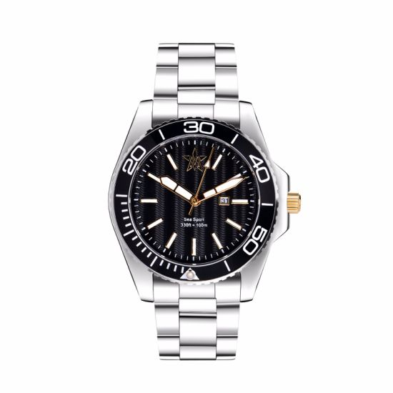 New Arrival High Quality Men Stainless Steel Style Watch (DC-CL005) pictures & photos