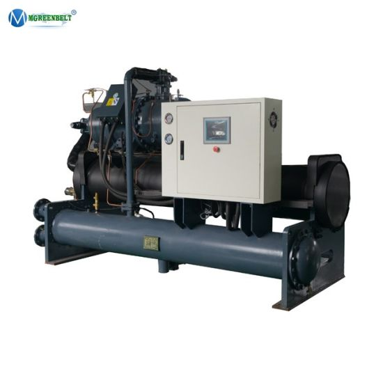 90kw ~ 2000kw Factory Customized Chemical Plant Cooling Water Cooled Screw Water Chiller