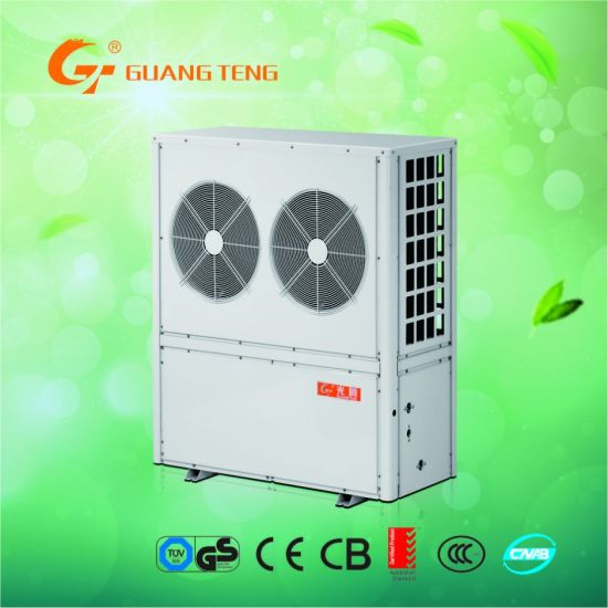 Evi Air Source Water Heater Air to Water Heat Pump Winter Floor Heating + Domestic Hot Water R410A Refrigerant