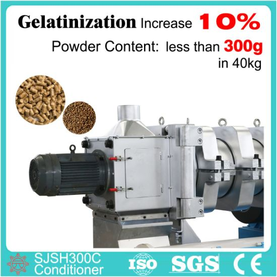 China Manufacure High Efficient Mechanical conditioner for Pig Feeds Processing pictures & photos