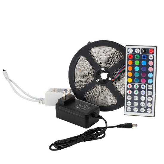 China shenzhen led lighting new full kit 5m 10m 5050 rgb led strip shenzhen led lighting new full kit 5m 10m 5050 rgb led strip light with power adapter and 44 key remote led strip kit aloadofball Gallery