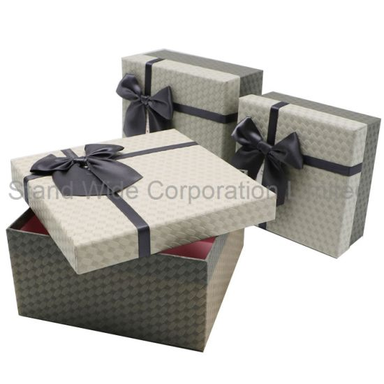 Jewellery Paper Gift Box/Custom Size Carton Box for Display 2018