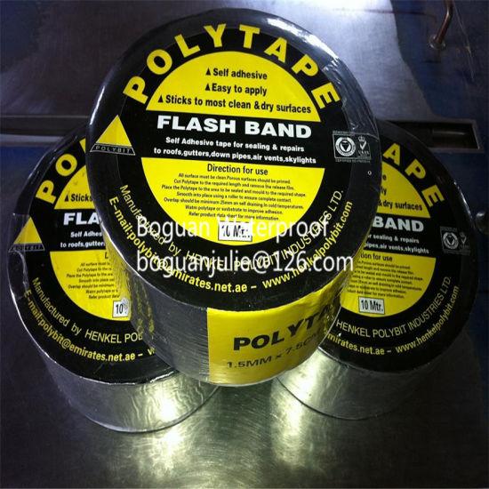 Roofs Repairing Bitumen Self-Adhesive Waterproof Flash Tape