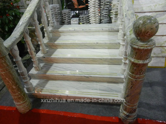 Granite Stairs Pre Cut Stone Steps And Risers Customized Marble Stairs