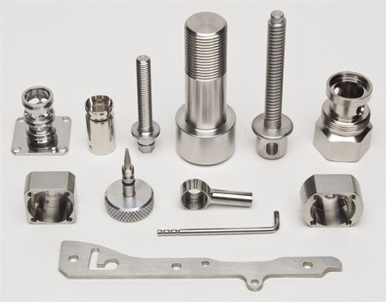 Aluminum Alloy CNC Machining Center Turning Parts pictures & photos
