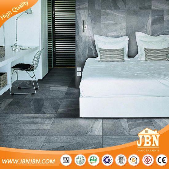 Grey 600X600 Color Cement Style Matt Rough Rustic Floor Tile (JV6710D)