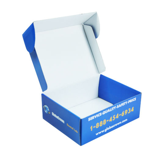 Glossy Corrugated Paper Box for Shipping in China Fpd6as6d2as32dq