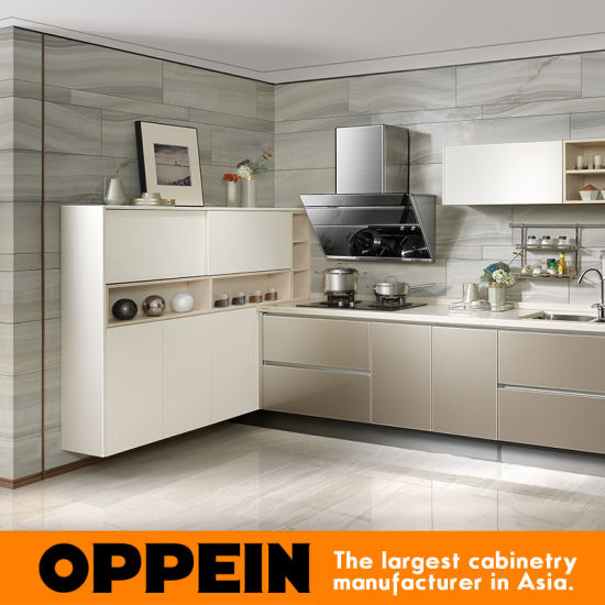 Exquisite Craft Upper Particleboard Kitchen Cabinets Pictures (OP16 086)  Pictures U0026 Photos