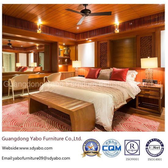 Modern Hotel Bedroom Furniture Set With Teak Furnishing Yb S811 1