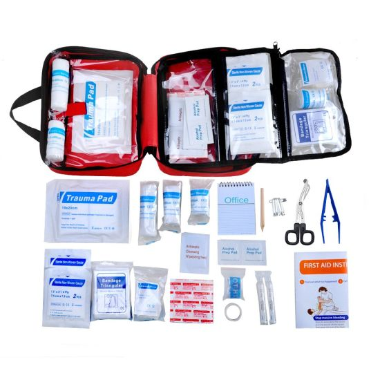 Private Label Emergency First Aid Kit Emergency Kit FDA Approved pictures & photos