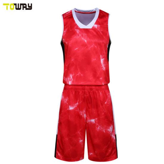 f1e72be1160 China Custom Blank Sample Basketball Jersey Couple Design - China ...