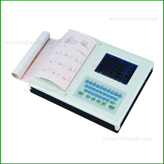 ECG-12A Diagnosis Equipment ECG Machine 12 Channel Digital  Electrocardiograph