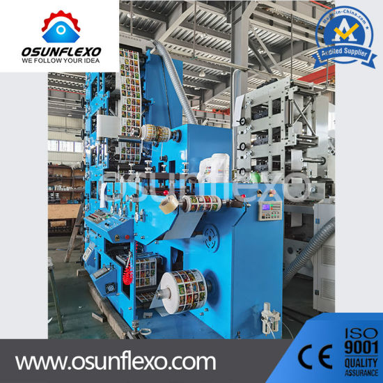 Flexo Printing Machine for Label Paper Front and Back Sides
