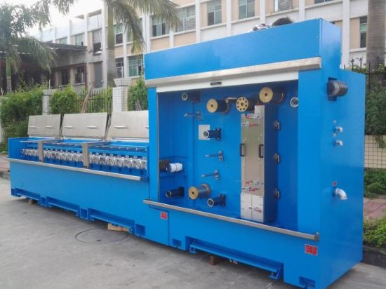4 Wires Copper Multi Wire Drawing Machine Price pictures & photos