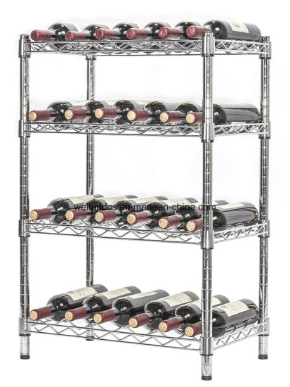 China Creative Wine Rack Holders Home Bar Wall Grape Wine Bottle