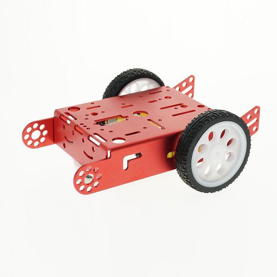 2wd Aluminum Alloy Smart Car Platform For Diy Chis Kit