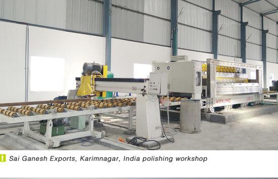 China Latest Granite Marble Line Polisher Machine India