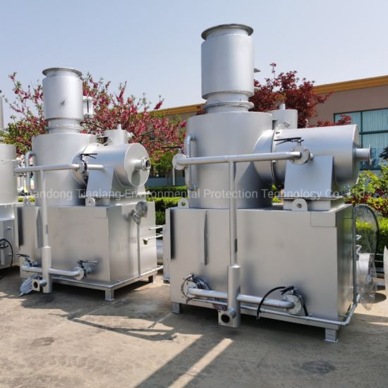 Advanced Solid Waste Incineration Process Third Generation Incinerator Machine for Medical/Animal/Farm/Industrial Garbage Burning Treatment
