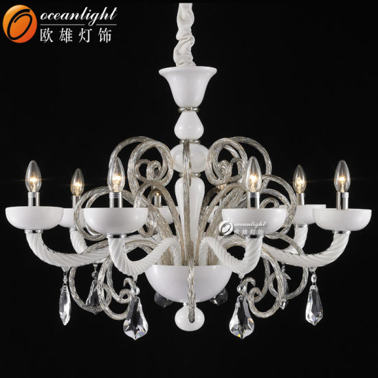 Luxury Crystal Chandelier Lighting Candle Lamps for Living Room 88014-8+4