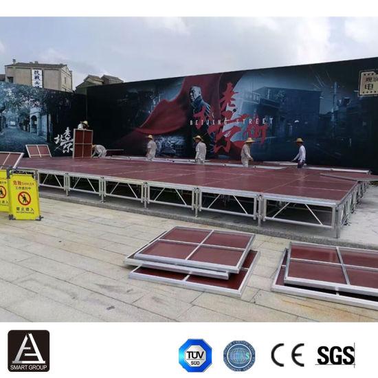 Wholesale Portable Aluminum Show Display Outdoor Concert Wedding Stage Platform for Sale