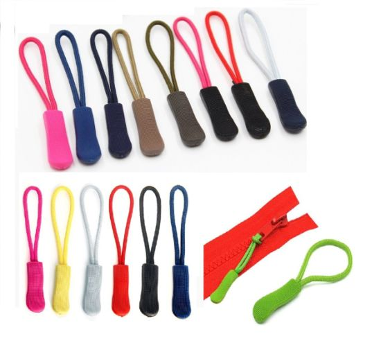 Custom Silicone Rubber Bag/Garment Zipper Pulls, Soft PVC Zipper Pull pictures & photos