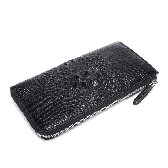 Men Genuine Crocodile Wallet Luxury Gift Designer Clutch Bag pictures & photos