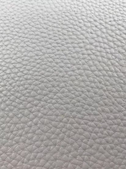 Cotton Fabric Backing PU Leather for Bag and Shoes