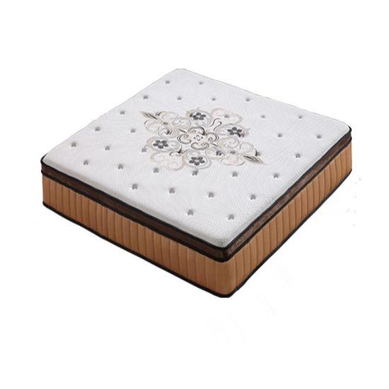 Bedroom Furniture Vacuummed Compressed Packing Foam Latex Pocket Spring Mattress