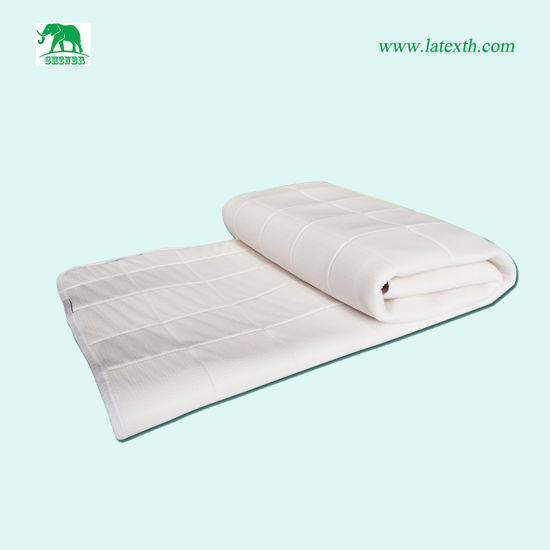 China Best Price Thin Soft Latex Foam Mattress Topper For Double Bed