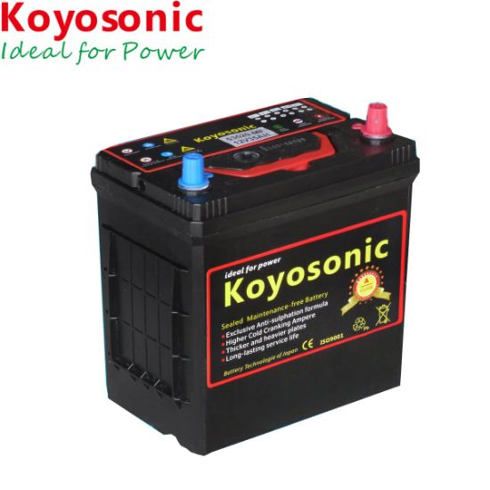 Small Capacity 12v 36ah Mf Car Battery With 2 Year Warranty Pictures Photos