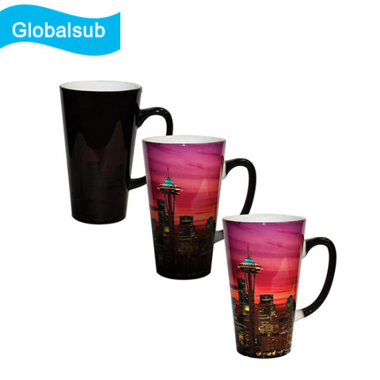 17oz Coated Blank Magic Color Changing Latte Mug for Sublimation pictures & photos