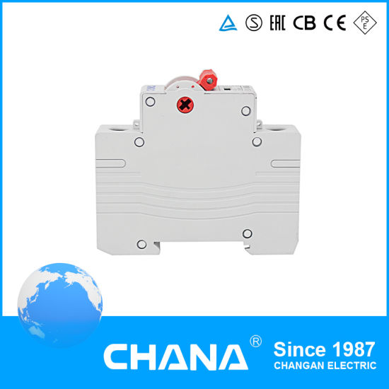 China DIN Rail Mini Circuit Breaker MCB Protection Single Pole 40A