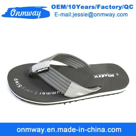 62049a49a Customize Wholesale EVA Men Summer Flip Flops Beach Slippers. Get Latest  Price