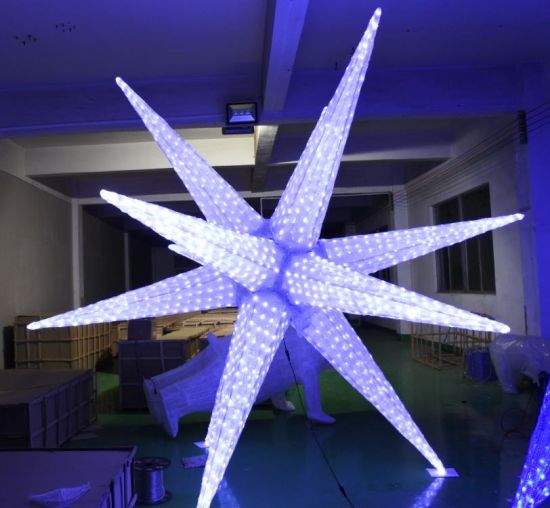 Outdoor Christmas Decorations 2019.Hot Item 2019 New Outdoor Christmas Decor Led Blasting Spine Motif Light