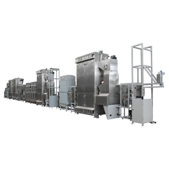 High-Quality Safety Webbings Continuous Dyeing and Finishing Machine