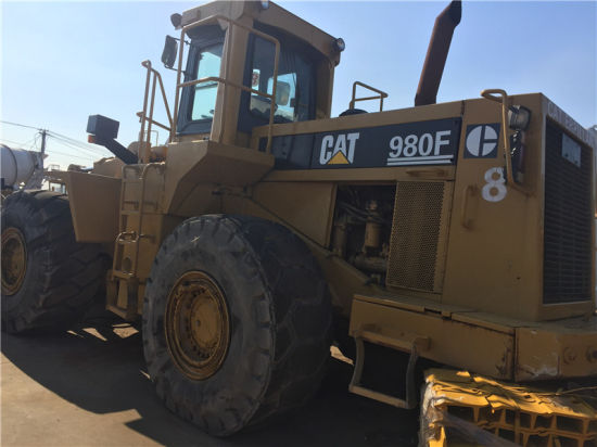 Used Cat 980f Wheel Loader Original Caterpillar 980f Loader pictures & photos