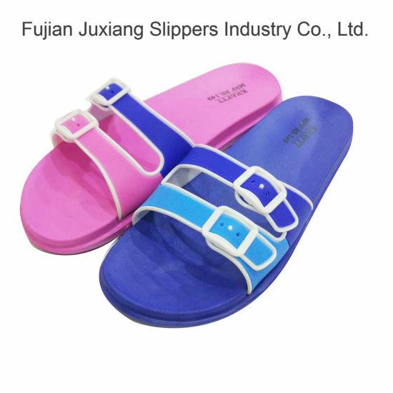 77a8afa6f43980 China Ladies Injection Comfortable EVA Outdoor Slippers - China ...
