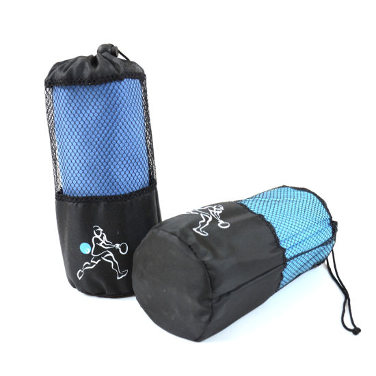 Multi-Purpose Rectangle Shape Quick Dry Microfibre Gym Sports Travel Towel pictures & photos