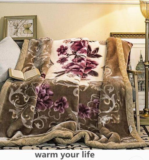 Wholesales Raschel /Acrylic Blanket/ Mink Blanket