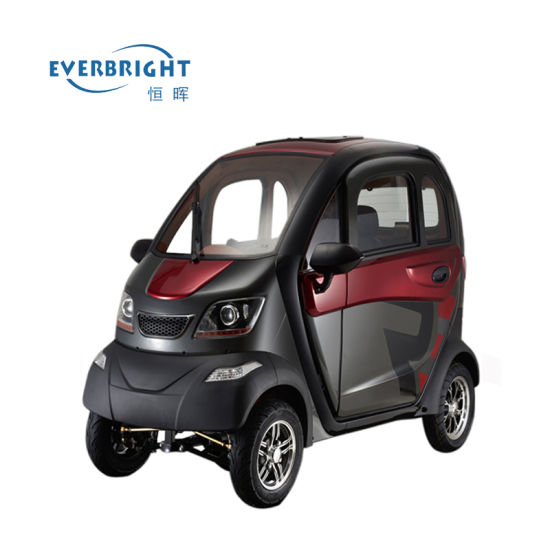 Electric Small Car, Mini Electric Vehicle 4 Four Wheel for Sale pictures & photos