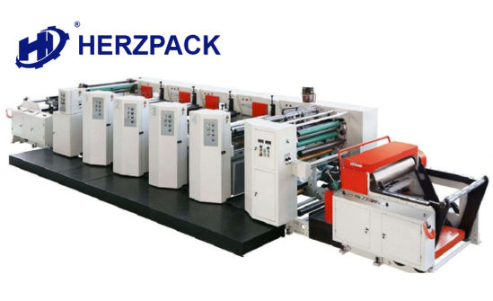High Speed Unit Type Flexo Printing Machine