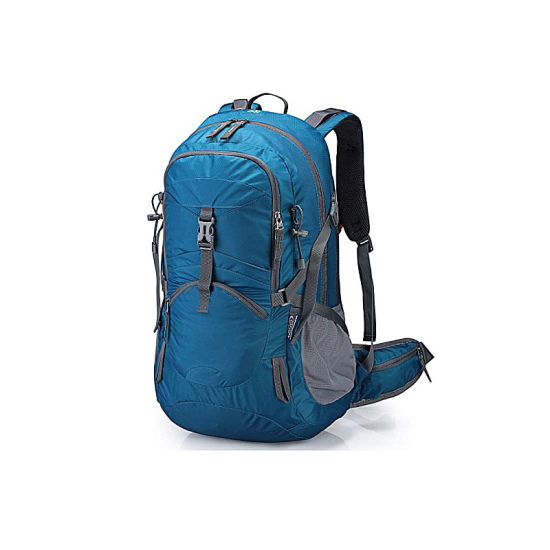 45L Hiking Travel Backpack Men Women Camping Daypack Outdoor with Rain Cover, Waterproof Durable Backpack