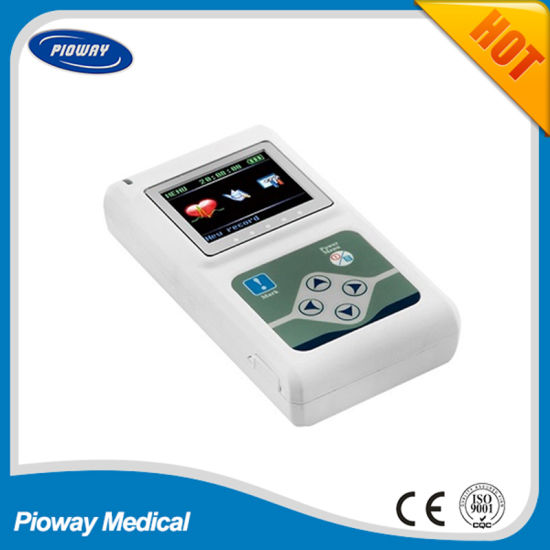 Real Manufacturer 24h/12-Channel ECG Recorder/Holter (TLC5000)