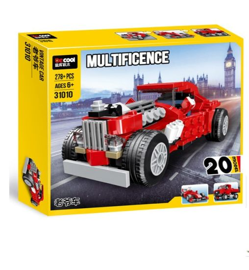 Novel Lego Airplanes, Cars, Ships Plastic Toy Newest Intelligent Blocks