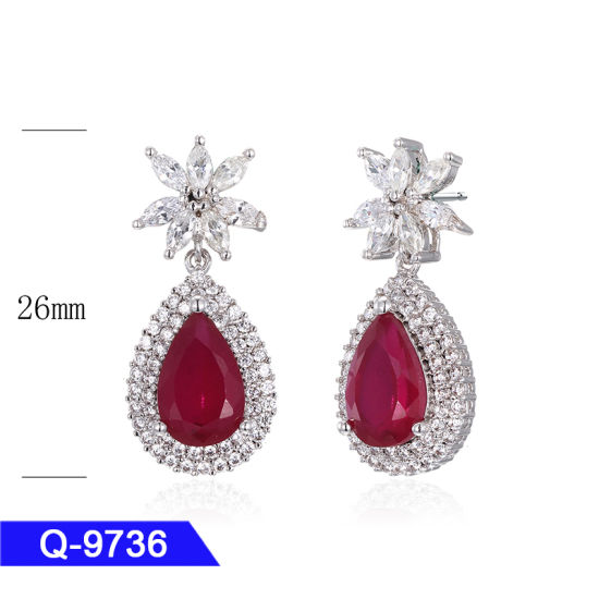 Designer Jewellery 925 Silver or Brass Fashion Drop Earrings for Women pictures & photos