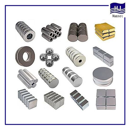 Sintered NdFeB Magnetic Strong Permanent/Neodymium Magnet for Industrial