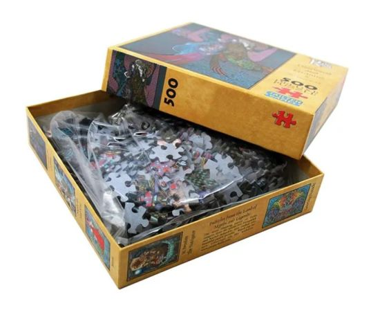 Factory Custom-Made Puzzle for Adult and Kids Full Color High Quality 300 500 Pieces Paper Cardboard Jigsaw Puzzle Game