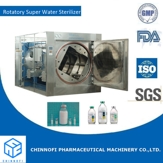 Fat Emulsion Rotary Autoclave/Amino Acid Rotary Hot Water Sprinkling Sterilizer
